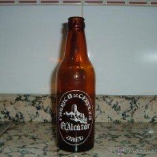 Coleccionismo de cervezas: BOTELLA CERVEZA ALCAZAR. Lote 44794340