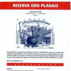 Coleccionismo de cervezas: CERVEZA - GRANDES CERVEZAS DEL MUNDO - 3 FICHAS COLECCIONABLES -VER DESCRIPCIÓN-. Lote 44888732