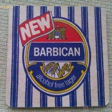 Colecionismo de cervejas: POSAVASOS CERVEZA BARBICAN. REINO UNIDO. AÑOS ´90. Lote 44933531