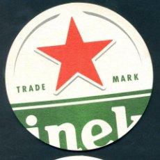 Coleccionismo de cervezas: POSA VASOS CERVEZA – HEINEKEN. Lote 293934558