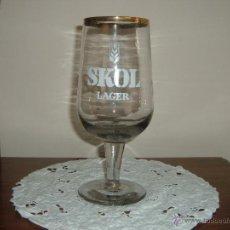 Coleccionismo de cervezas: COPA GRANDE SKOL. Lote 45501891