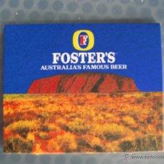 Coleccionismo de cervezas: POSAVASO / POSAVASOS CERVEZA FOSTER'S. Lote 45560159