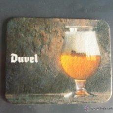 Coleccionismo de cervezas: POSAVASO / POSAVASOS CERVEZA BELGA DUVEL. Lote 45597857