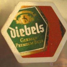 Coleccionismo de cervezas: POSAVASO / POSAVASOS CERVEZA DIEBELS. Lote 45410307