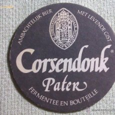 Colecionismo de cervejas: POSAVASOS CERVEZA CORSENDONK. BÉLGICA. AÑOS ´90. Lote 45854775