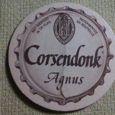 Colecionismo de cervejas: POSAVASOS CERVEZA CORSENDONK. BÉLGICA. 1990. Lote 45855406