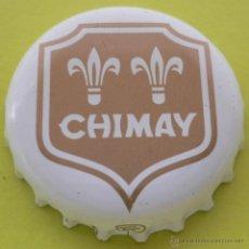 Coleccionismo de cervezas: CHAPA CERVEZA CHIMAY -BELGICA- KRONKORKEN TAPPI BEER FABRICANTE -TF-. Lote 142800352