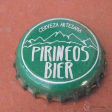 Coleccionismo de cervezas: CHAPA CERVEZA ARTESANA PIRINEOS BIER (1) . HUESCA.----LOTE N. 1694---CARMANJO. Lote 46630748