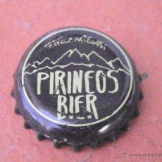 Coleccionismo de cervezas: CHAPA CERVEZA ARTESANA PIRINEOS BIER (3) . HUESCA.----LOTE N. 2290---CARMANJO. Lote 46630831