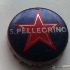 Collectionnisme de bières: CHAPA KRONKORKEN CAPS TAPPI CERVEZA S. PELLEGRINO. ITALIA. Lote 192261818