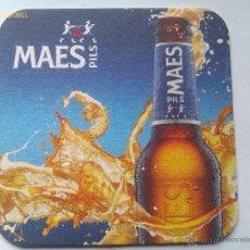 Colecionismo de cervejas: POSAVASOS CERVEZA MAES PILS. BÉLGICA. Lote 197169522