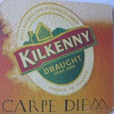 Coleccionismo de cervezas: POSAVASO/POSAVASOS CERVEZA IRLANDA. KILKENNY.. Lote 46940047