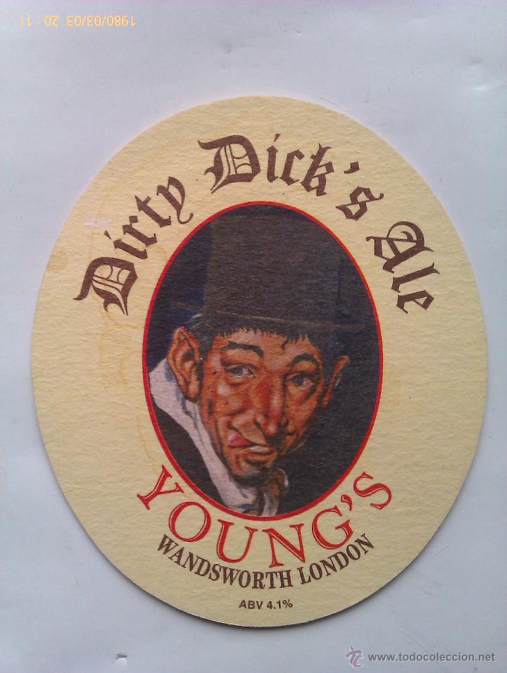 Posavasos Cerveza Young´s. Wandsworth. Londres. Reino Unido. 1996 segunda mano
