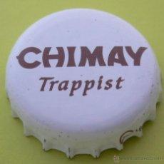 Coleccionismo de cervezas: CHAPA CERVEZA CHIMAY -BELGIUM- , KRONKORKEN TAPPI FABRICANTE -DAP-. Lote 142799913