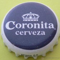 Coleccionismo de cervezas: CHAPA CERVEZA CORONITA -MEXICO- , KRONKORKEN TAPPI. Lote 47112328