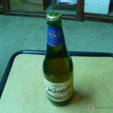 Coleccionismo de cervezas: BOTELLA DE CERVEZA, MURYM , RUSA, 0,5L, LLENA, CADUCADA, CHAPA, TAPON CORONA, VER FOTOS ADICIONALES.. Lote 47707694