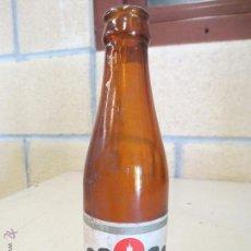 Coleccionismo de cervezas: BOTELLIN BOTELLA CERVEZA HENNINGER. Lote 47721021