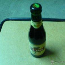 Coleccionismo de cervezas: BOTELLA,DE CERVEZA, BELLE-VUE, GUEUZE, CADUCADA, LLENA 25 CL, CHAPA TAPON CORONA,. Lote 47734159