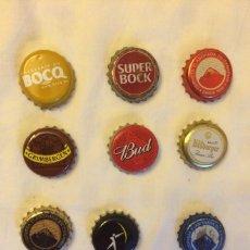 Coleccionismo de cervezas: LOTE DE CHAPAS DE CERVEZA. Lote 49909119