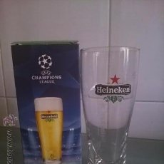 Coleccionismo de cervezas: VASO DE CERVEZA HEINEKEN. UEFA CHAMPIONS LEAGUE.25 CL.. Lote 49910602