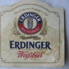 Coleccionismo de cervezas: POSAVASO POSAVASOS CERVEZA ERDINGER. Lote 50227078