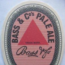 Coleccionismo de cervezas: POSAVASO POSAVASOS CERVEZA INGLESA BASS (HISTORY IN THE MAKING Nº 3). Lote 50253118