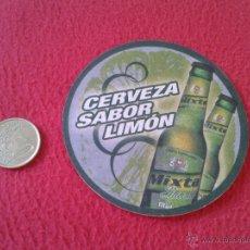 Coleccionismo de cervezas: ESCASO POSAVASOS TENGO MAS POSAVASOS VEAN MIS LOTES CERVEZA SABOR LIMON MIXTA SHANDY MAHOU ? IDEAL C. Lote 50856210