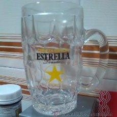 Coleccionismo de cervezas: ESTRELLA DORADA, SEIS JARRAS NUEVAS SIN USO.. Lote 51348352