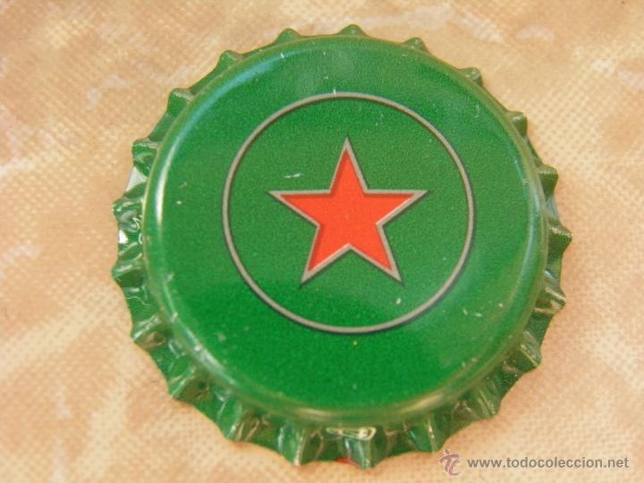 1 CHAPA CERVEZA STAR .ARGELIA-ALGERIA. RARA. ---LOTE N. 2410---CARMANJO (Coleccionismo - Botellas y Bebidas - Cerveza )