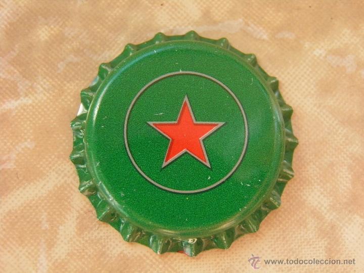 Coleccionismo de cervezas: 1 CHAPA CERVEZA STAR .ARGELIA-ALGERIA. RARA. ---LOTE N. 2410---CARMANJO - Foto 3 - 51387857