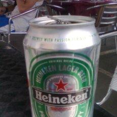 Coleccionismo de cervezas: LATA BOTE DE CERVEZA HEINEKEN 2015. Lote 51467051