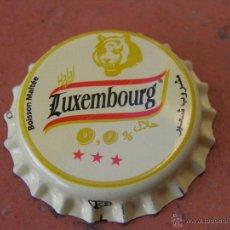 Coleccionismo de cervezas - 1 CHAPA CERVEZA LUXEMBOURG MALTA. ARGELIA-ALGERIA. RARA. ---LOTE N. 2417-----CARMANJO - 51994675