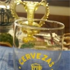 Coleccionismo de cervezas: VASO DE CERVEZA / CERVEZAS MORITZ / ÉPOCA. Lote 117587668