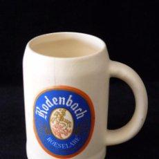 Coleccionismo de cervezas: ANTIGUA JARRA DE CERVEZA RODENBACH ROESELARE. AÑOS 70. Lote 52974733