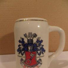 Coleccionismo de cervezas: JARRA CERAMICA CERVEZA ALEMANA BECK´S;. Lote 53395021