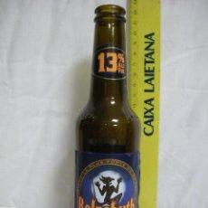 Coleccionismo de cervezas: BELZEBUTH *** BOTELLA CERVEZA EXTRA FORTE VACÍA *** FRANCIA *** 25 CL *** ALTURA 22 CM. Lote 53981871