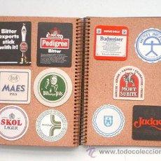 Coleccionismo de cervezas: ÁLBUM DE 85 POSAVASOS. Lote 54648568