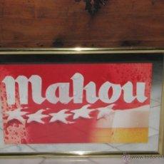 Coleccionismo de cervezas: ESPEJO PUBLICITARIO CERVEZA MAHOU. Lote 54794634