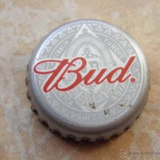 Collectionnisme de bières: TAPÓN CORONA CHAPA CERVEZA BUD DE BUDWEISER. (8) E.E.U.U.----------------LOTE N. 1182----CARMANJO. Lote 54997266