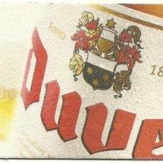 Coleccionismo de cervezas: POSAVASOS CERVEZA DUVEL - BELGICA. Lote 55869146