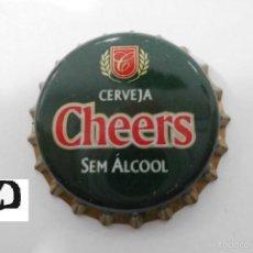 Coleccionismo de cervezas: CHAPA TAPON CORONA CHEERS - PORTUGAL. Lote 98072279
