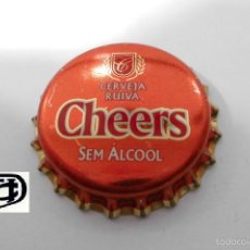 Coleccionismo de cervezas: CHAPA TAPON CORONA CHEERS - PORTUGAL. Lote 98072754