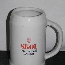 Coleccionismo de cervezas: CERVEZA SKOL. Lote 56535451