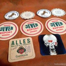 Coleccionismo de cervezas: 9 POSAVASOS VARIADOS. Lote 56578238