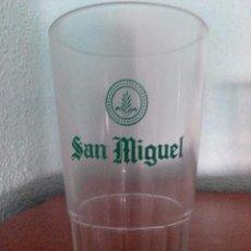 Coleccionismo de cervezas: VASO CERVEZA SAN MIGUEL. Lote 57482233