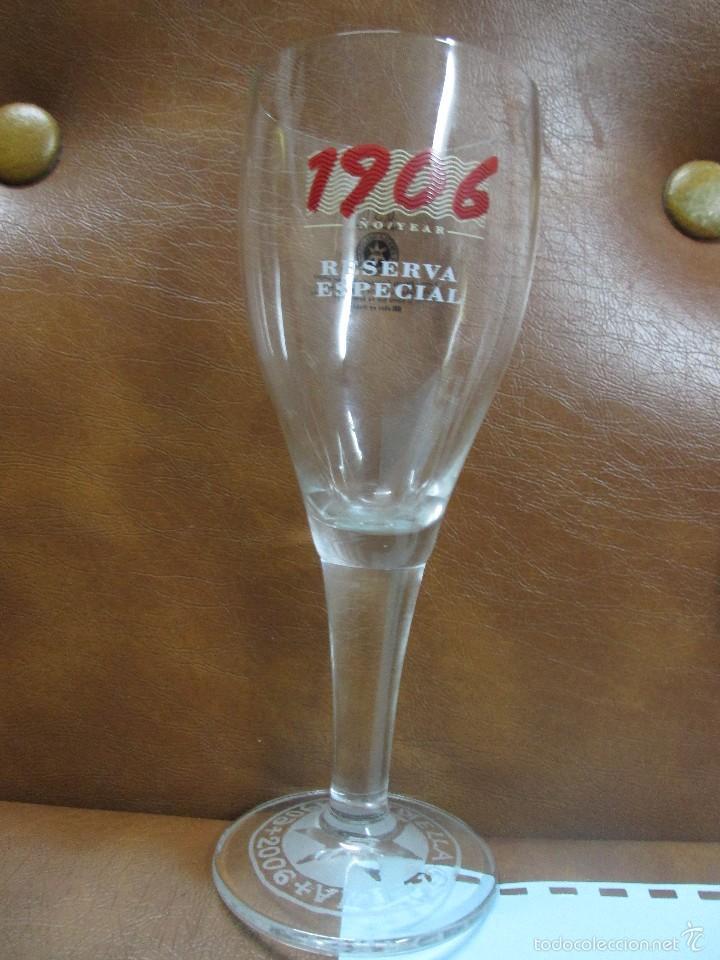 Copa de cristal cerveza estrella galicia 1906 2 comprar for Copa cerveza