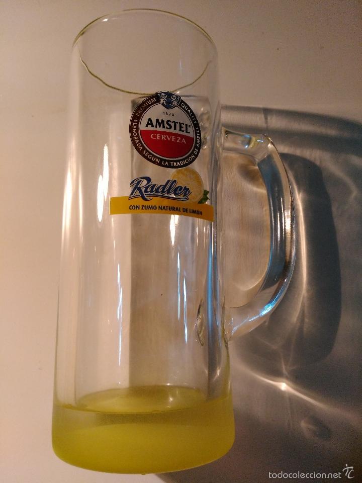 Coleccionismo de cervezas: JARRA CERVEZA AMSTEL RADLER - Foto 3 - 57957382