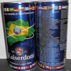 Coleccionismo de cervezas: CERVEZA KAISERDOM - UNA LATA DEL AÑO DE 201. Lote 58283784