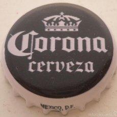 Coleccionismo de cervezas: CHAPA CORONA CERVEZA MEXICO DF -MEXICO- KRONKORKEN TAPPI BEER FABRICANTE -Z-. Lote 58933940