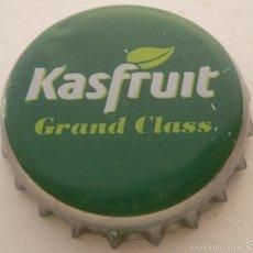 Coleccionismo de cervezas: CHAPA ZUMO KASFRUIT -SPAIN- KRONKORKEN TAPPI BEER FABRICANTE -TCI-. Lote 142800810